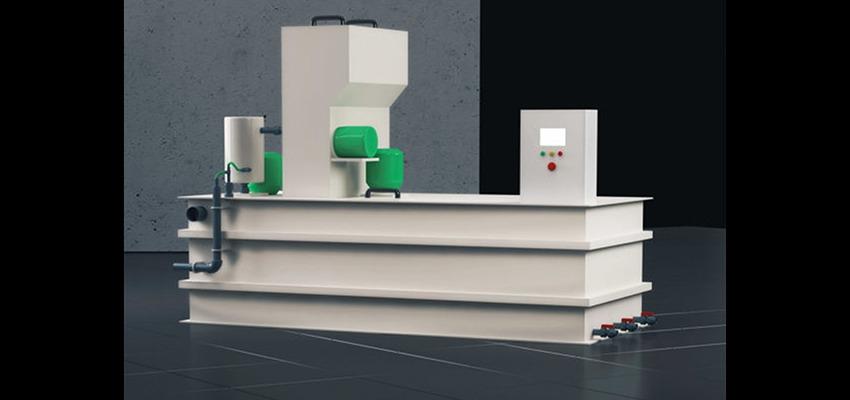 Uređaj za pripremu polielektrolita